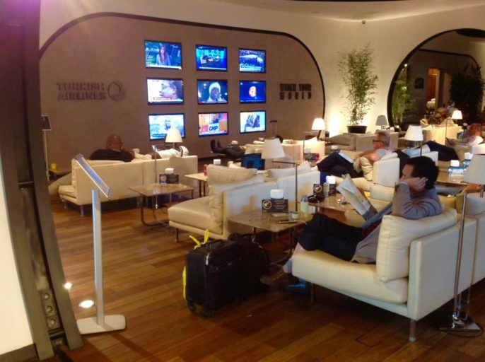 Turkish airlines, lounge