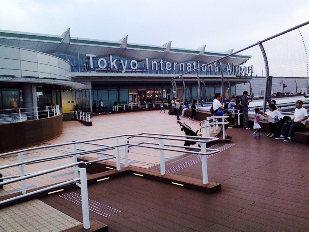 tokyo-haneda, parnorama