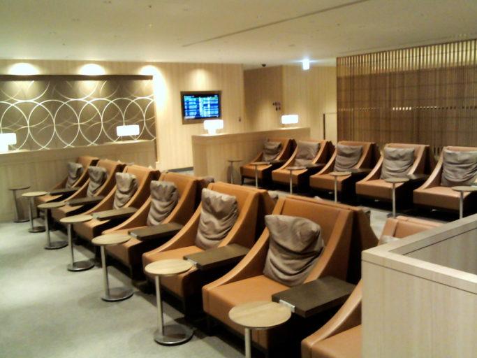 Japan airlines, lounge, haneda