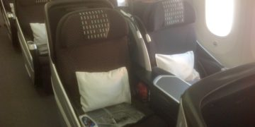 business class, japan airlines, 787-800