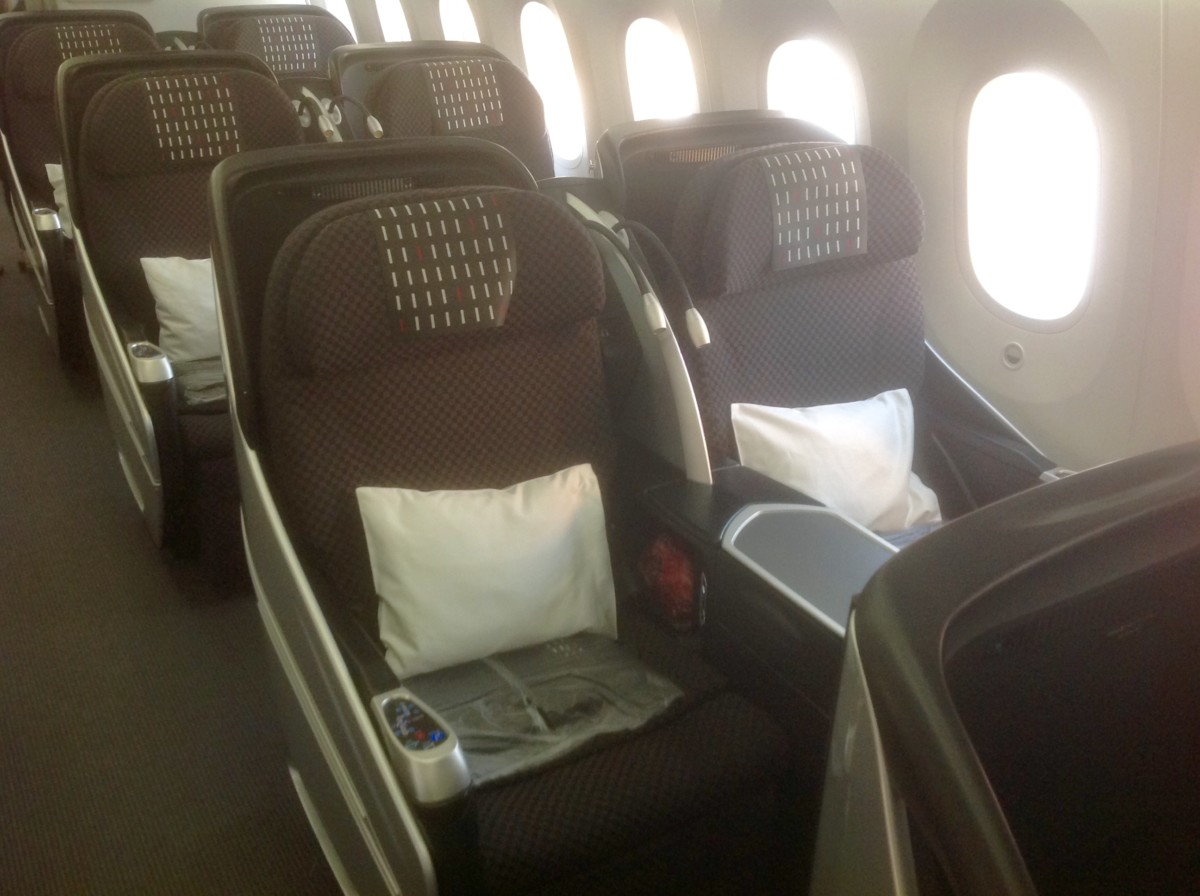 Review Japan Airlines Boeing 787 8 Business Class Seoul