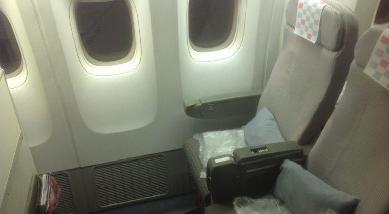 Japan Airlines, haneda, boeing 777, bangkok, economy