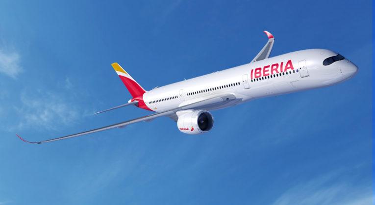 Iberia A350 toestel