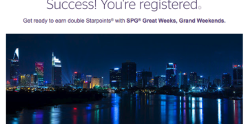 SPG Great Weeks Grand Weekends promotie