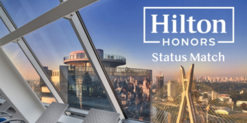 hilton honors status match