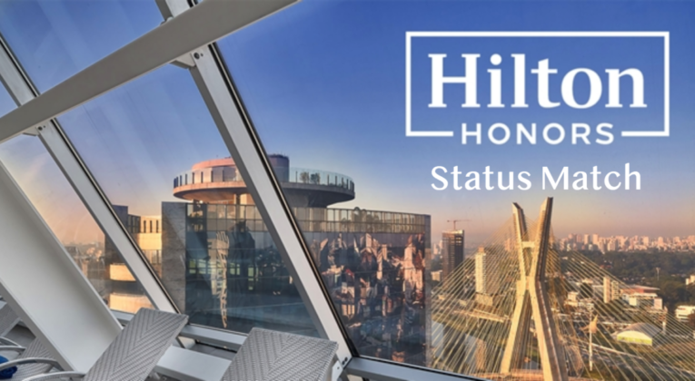 hilton honors status match