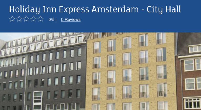 holiday inn express amsterdam city hall