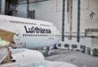 Toestel met nieuwe livery (Bron: Lufthansa)