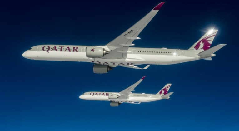 A350-1000 en A350-900 Qatar Airways