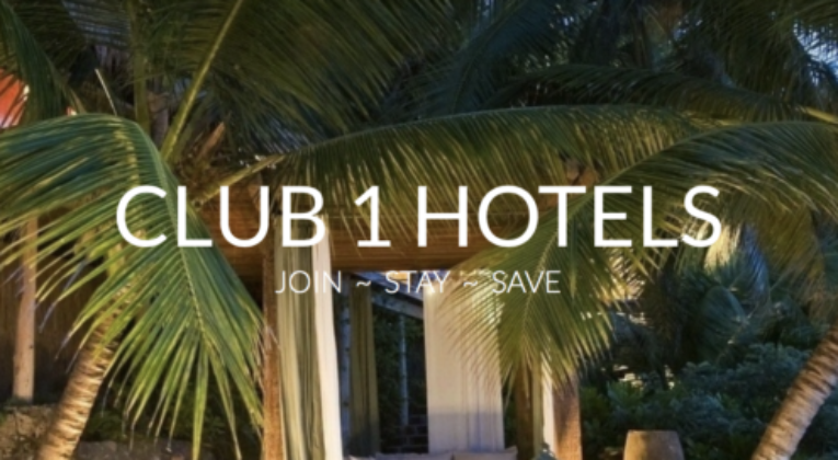 Club 1 Hotels - Header
