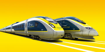 Eurostar tussen Amsterdam en Londen