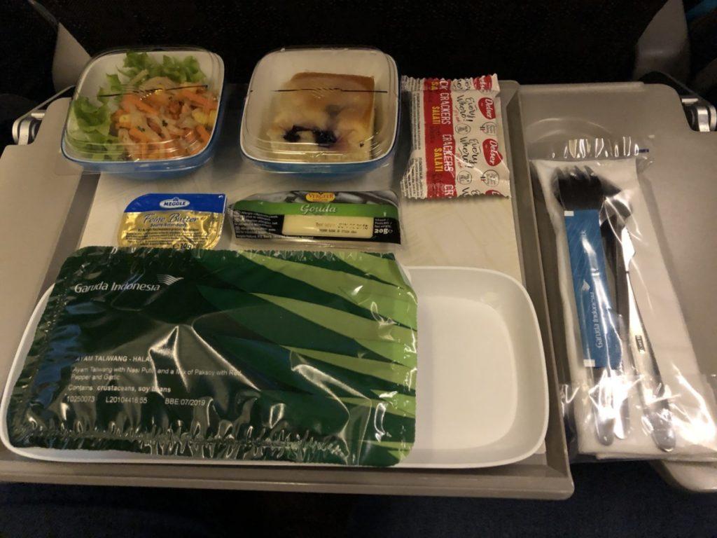 Garuda Indonesia Economy Class Amsterdam - Jakarta