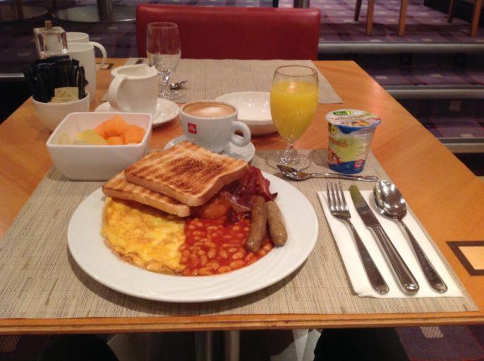 hilton, Vienna, ontbijt