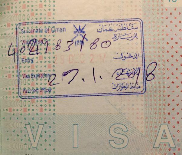 Oman Visa On Arrival