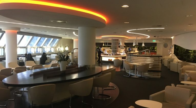 Review - SkyTeam Lounge Heathrow Airport