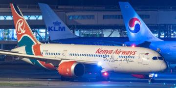 KLM & Kenya Airways houden banden warm