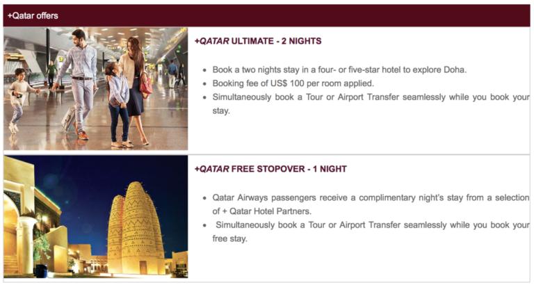 Qatar stopover programma
