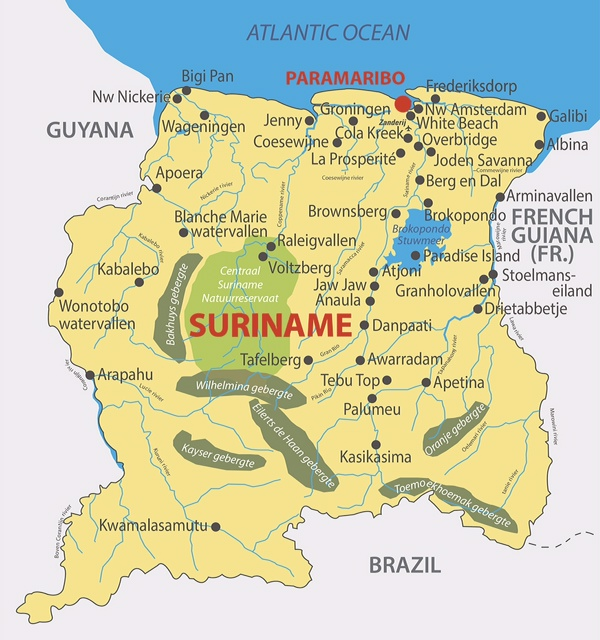 Bestemmingstip Suriname