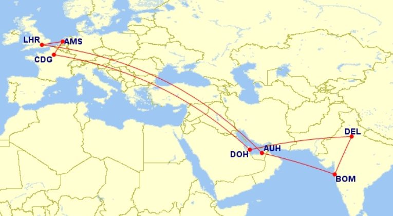 first class, Etihad, Qatar airways, award