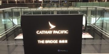 Cathay Pacific The Bridge Lounge