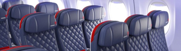Delta Comfort+ (Bron: Delta Air Lines)