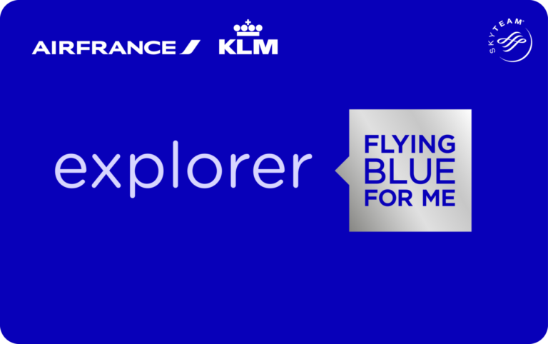 Flying Blue Explorer card new design