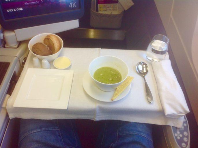 soep, qatar airways, a330