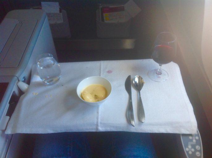 ijsje, wijntje, qatar airways