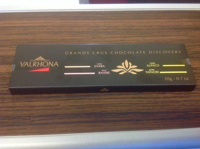 chocolade, landing, qatar airways