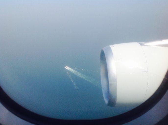 doha, qatar airways, landing