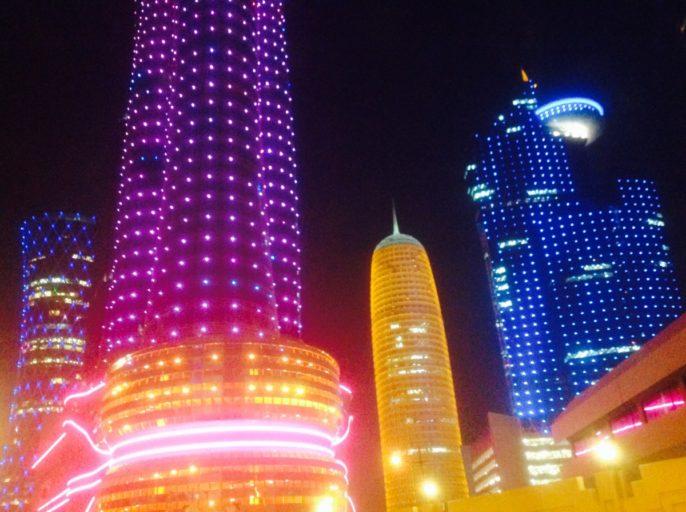 aspire tower, Burj doha, doha, qata