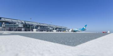Nieuwe luchthaven Muscat - Oman