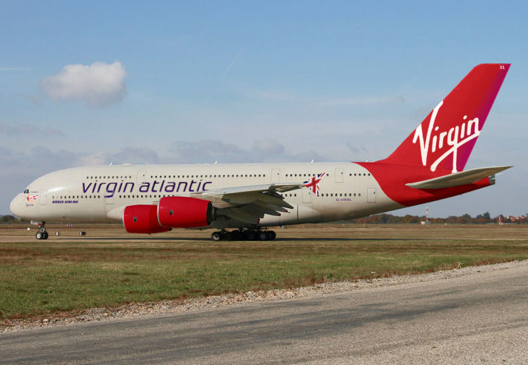 Virgin Atlantic A380 (Bron: Virgin Atlantic)