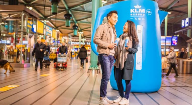KLM zet in op warme band met China