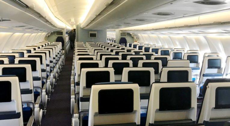 KLM A330 Economy