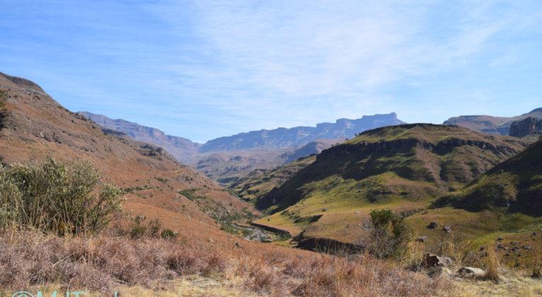 Vanuit Himeville naar de bergstaat Lesotho