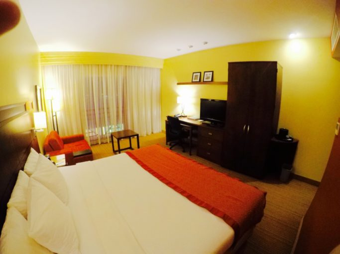 marriott, kamer, paramaribo