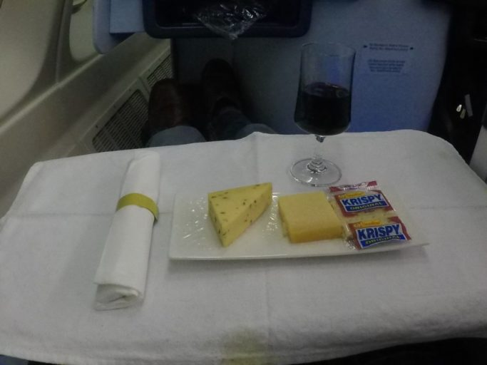 kaasplateau, klm, business class