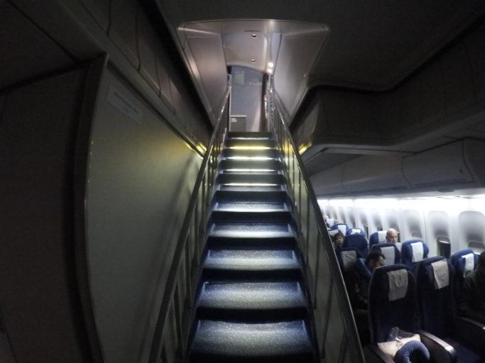 bovendek, Boeing 747, klm