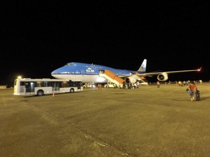 klm, boarden, boeing 747