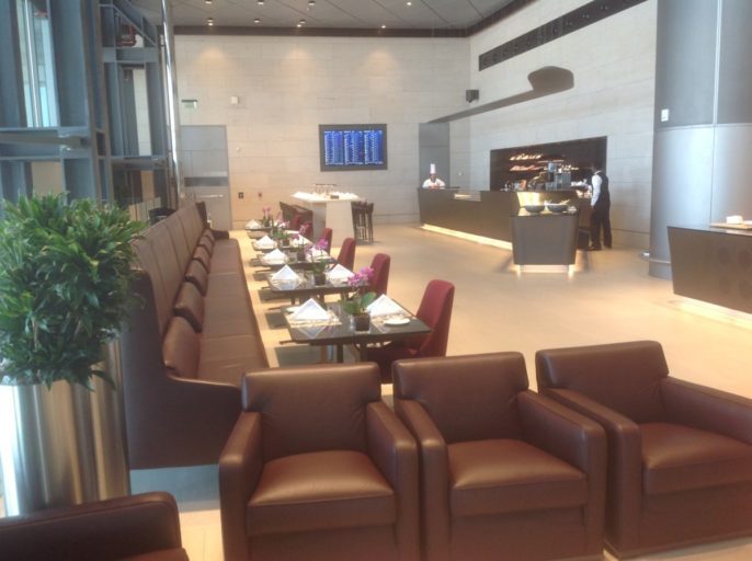 al safwa, lounge, doha, first class, lunch