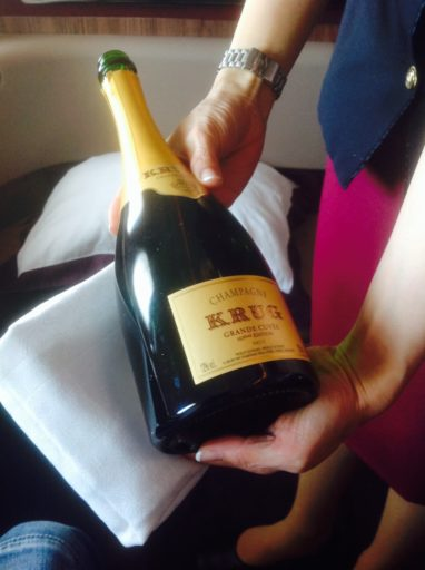 champagne, Qatar airways, a380