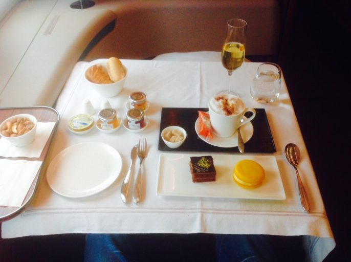 qatar airways, first class, a380