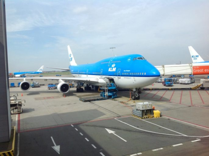 klm, boeing 747, queen of the skies