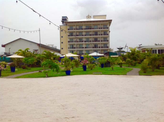 marriott, strand, paramaribo