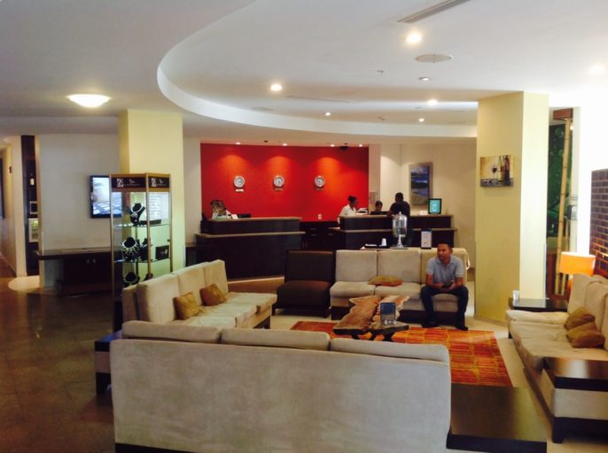 lobby, courtyard, marriott, paramaribo