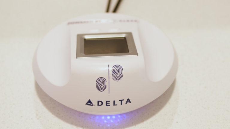 Delta vingerafdrukscanner (Bron: Delta)