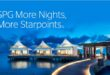 SPG More Nights More Starpoints