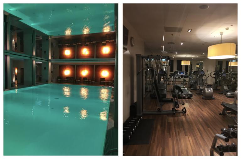 Zwembad en Fitnessruimte