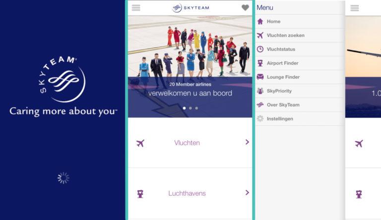 Met nieuwe app van SkyTeam verdwaal je nooit meer!